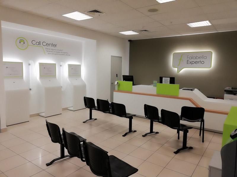Construccion call center falabella